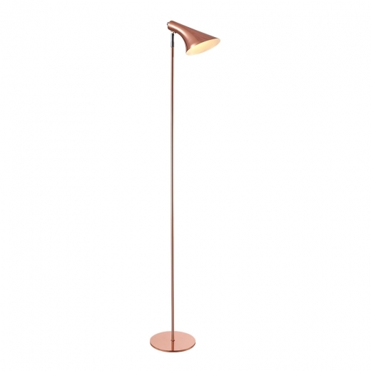 Cult Living Biretta Adjustable Head Metal Standing Lamp, Copper