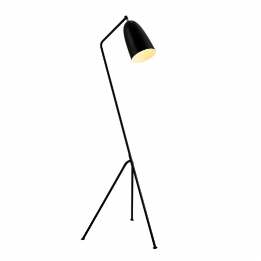 Cult Living Grasshopper Metal Floor Lamp, Black