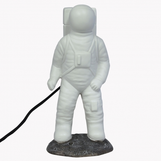 Disaster Designs Funky Style LED Astronaut Table Lamp, White
