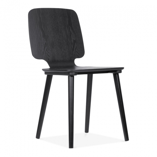 Cult Living Doris Wooden Dining Chair - Black