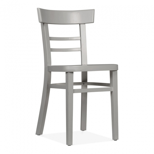 Cult Living Leena Wooden Dining Chair - Grey