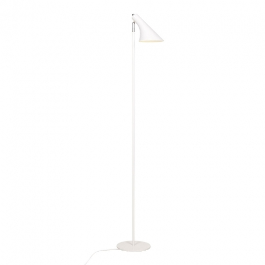 Cult Living Biretta Adjustable Head Metal Standing Lamp, White