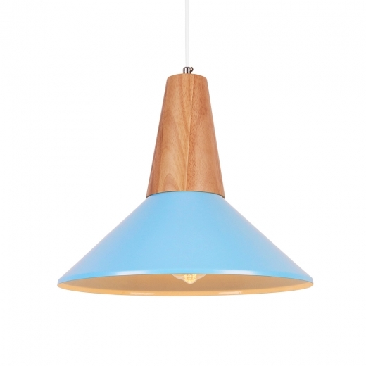 Cult Living Stockholm Dish Metal Pendant Light - Blue