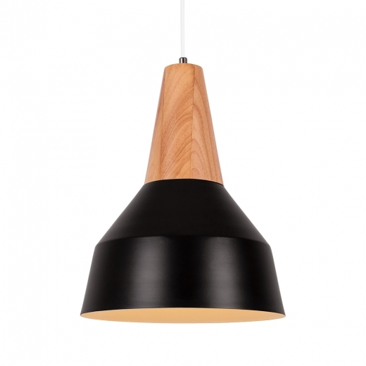 Cult Living Stockholm Cone Metal Pendant Light - Black