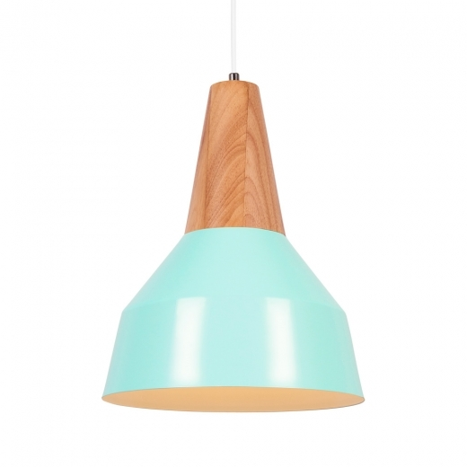 Cult Living Stockholm Cone Metal Pendant Light - Peppermint