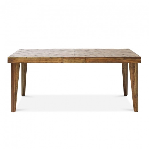 Parq Dining Table, Reclaimed Pine, Light Brown