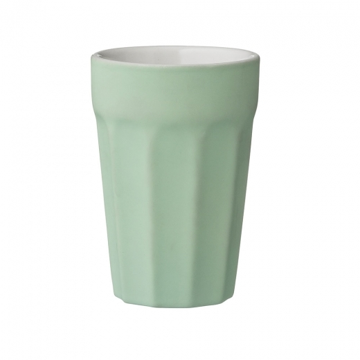 Cult Home Caroline Ceramic Tumbler Cup, Peppermint