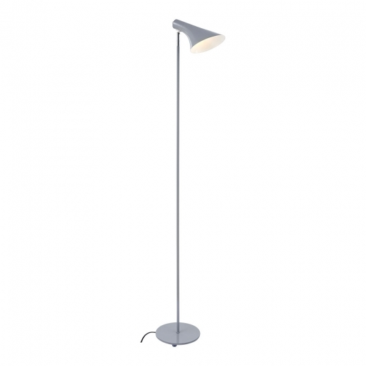 Cult Living Biretta Adjustable Head Metal Standing Lamp, Grey