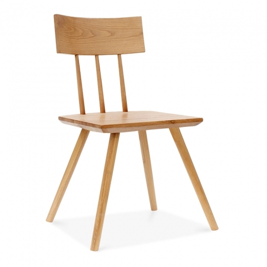 Cult Living Orla Wooden Dining Chair, Natural