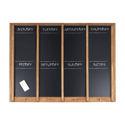 Present Time Large Hanging Weekly Planner, Chalkboard