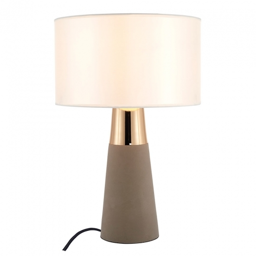 Cult Living Ashburn Concrete Table Lamp, Gold