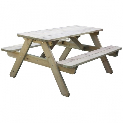 Cult Living Jacob 6 Seater 'A' Frame Picnic Table, Natural Pine