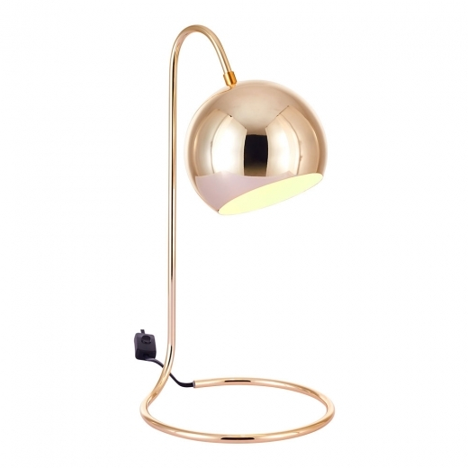Cult Living Rae Metal Desk Lamp, Gold