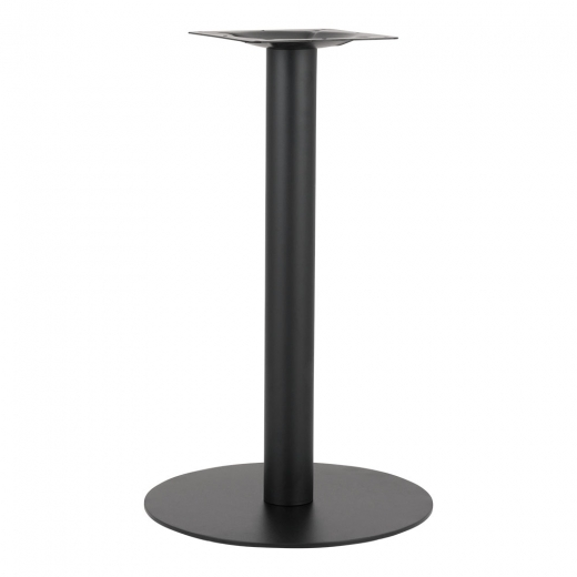 Cult Living Arleigh Stainless Steel Cafe Table Base, Black Finish