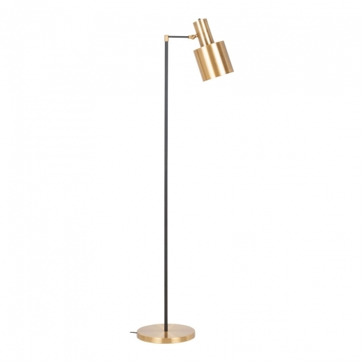 Cult Living Madden Metal Standing Floor Lamp, Gold - Clearance Sale