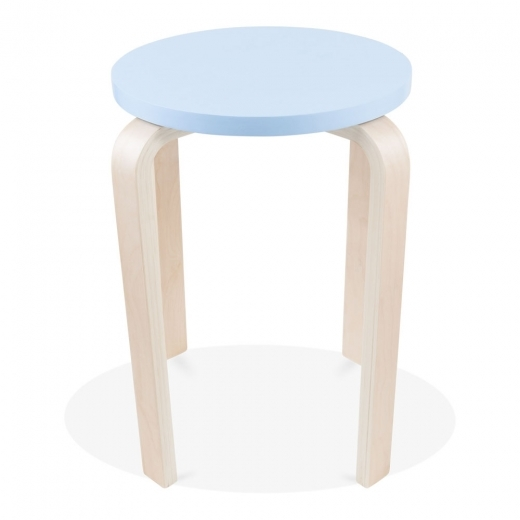 Cult Living Bella Short Stool - Light Blue 45cm
