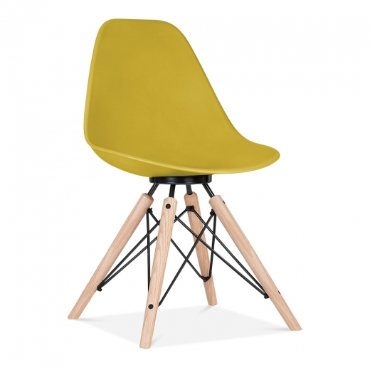 Cult Design Moda Dining Chair CD3 - Mustard
