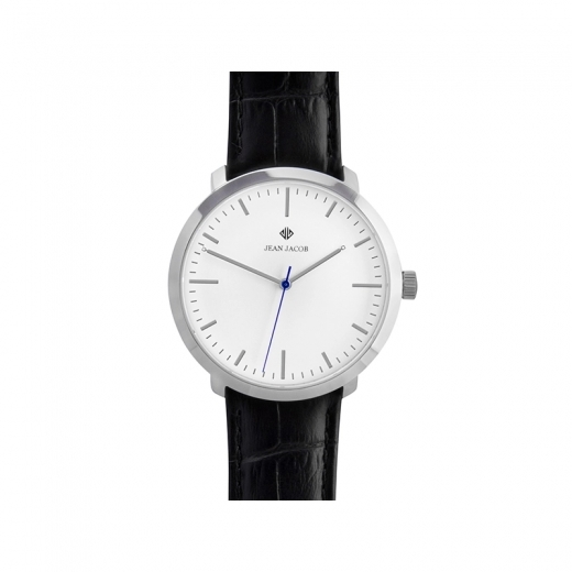 JEAN JACOB Unisex London Classic Watch, 40mm in Silver