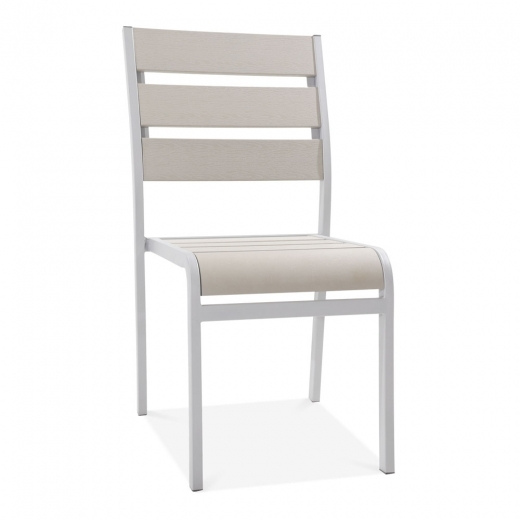 Cult Living Atlanta Outdoor Dining Chair, Grey Polywood