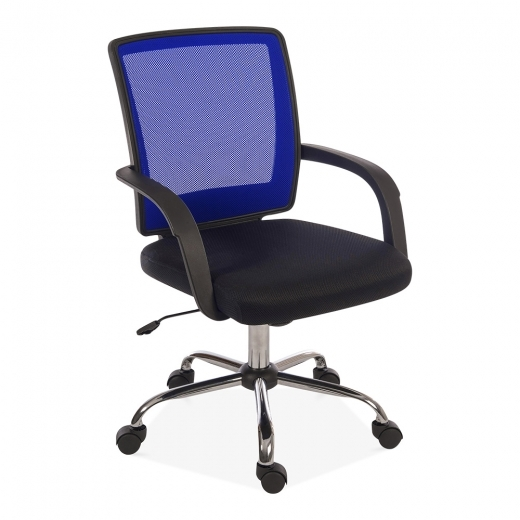 Cult Living Star Mesh Office Chair, Blue