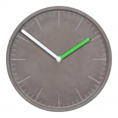 Stone Studio Concrete Wall Clock - Grey