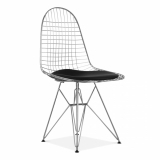 Chrome DKR Wire Chair