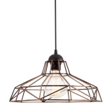 Industrial Harlow Cage Light - Copper
