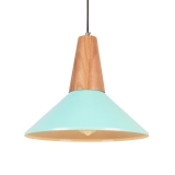 Stockholm Dish Metal Pendant Light - Peppermint