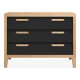 Ekman Chest Of Drawers 3 drawers - Black
