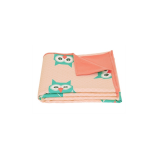 Owl Geo Forest Blanket - Multi Coloured