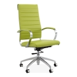Deluxe High Back Office Chair - Apple Green