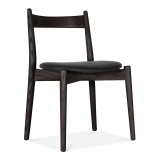Soho Dining Chair - Black / Black Seat