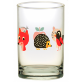 Ingela P Arrhenius Animals Kids Drinking Glass