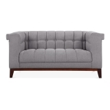 Jewel 2 Seater Sofa - Smokey Grey