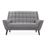 Quincy 2 Seater Sofa - Smokey Grey