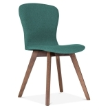 Hudson Upholstered Dining Chair - Teal