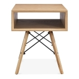 Hazel Side Table with DSW Legs - Natural
