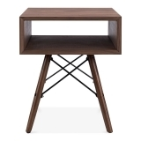 Hazel Side Table with DSW Legs - Walnut