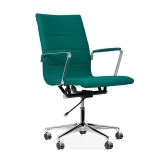 Ellington Office Chair in Cashmere - Teal