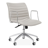 Ortega Low Back Office Chair - Light Grey