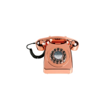 746 Retro Phone - Copper