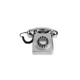 746 Retro Phone - Chrome