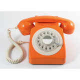 746 Style Telephone - Orange