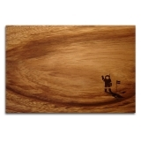 Solid Wood Chopping Board - Astronaut