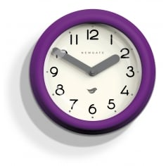 The Pantry Wall Clock - Purple