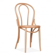 Thonet Style Bistro Wooden Dining Chair - Natural - Clearance Sale