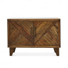 Parq Small Sideboard, Reclaimed Pine, Light Brown