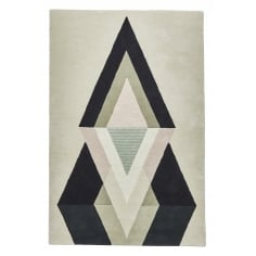 Michelle Collins 100% Wool Hand Tufted Rug, Reflect
