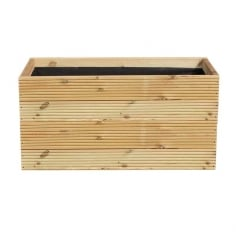 Warwick Rectangle Wooden Planter, Extra Large 120cm