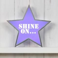 Classic Star Light Box - Shine On